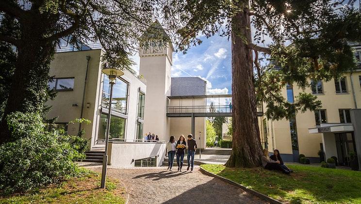 IU Internationale Hochschule - Park, Außenbereich