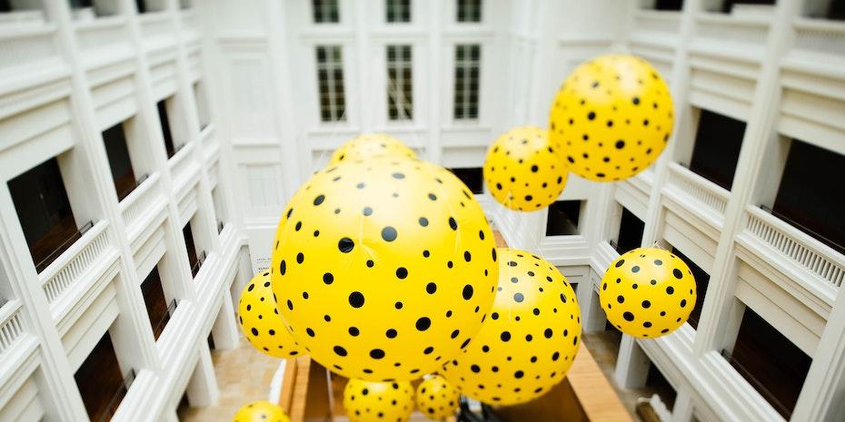 Ballon Symbolbild Postdoc freie Wirtschaft