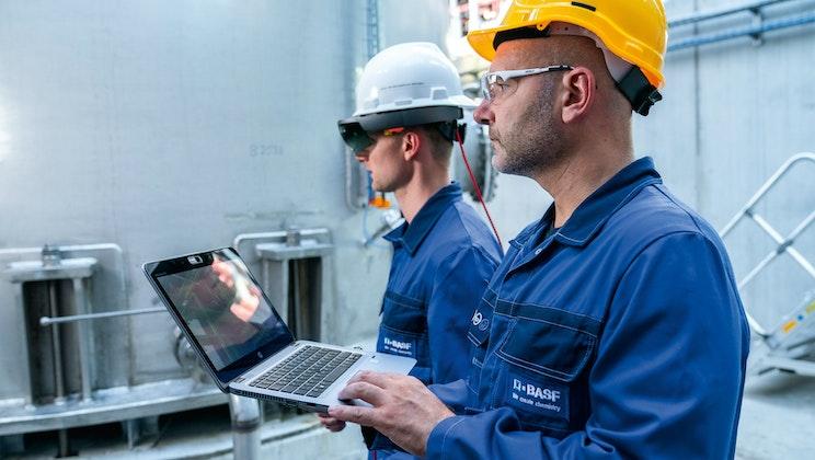 BASF - Digitalisierung Produktionsbetrieb