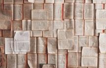 Buchseiten als Symbolbild fuer Promotion Geisteswissenschaften