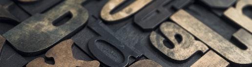 Buchstaben Symbolbild Publikation