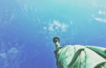 Freiheitsstatue promovieren in den USA
