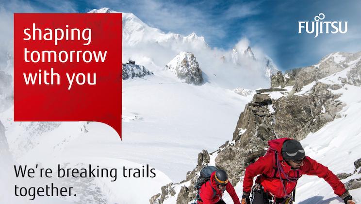 Fujitsu - We're breaking trails together