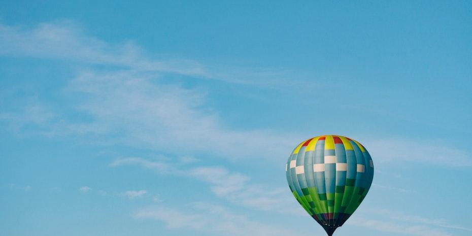 Heißluftballon Symbolbild Professur ohne Promotion Habilitation