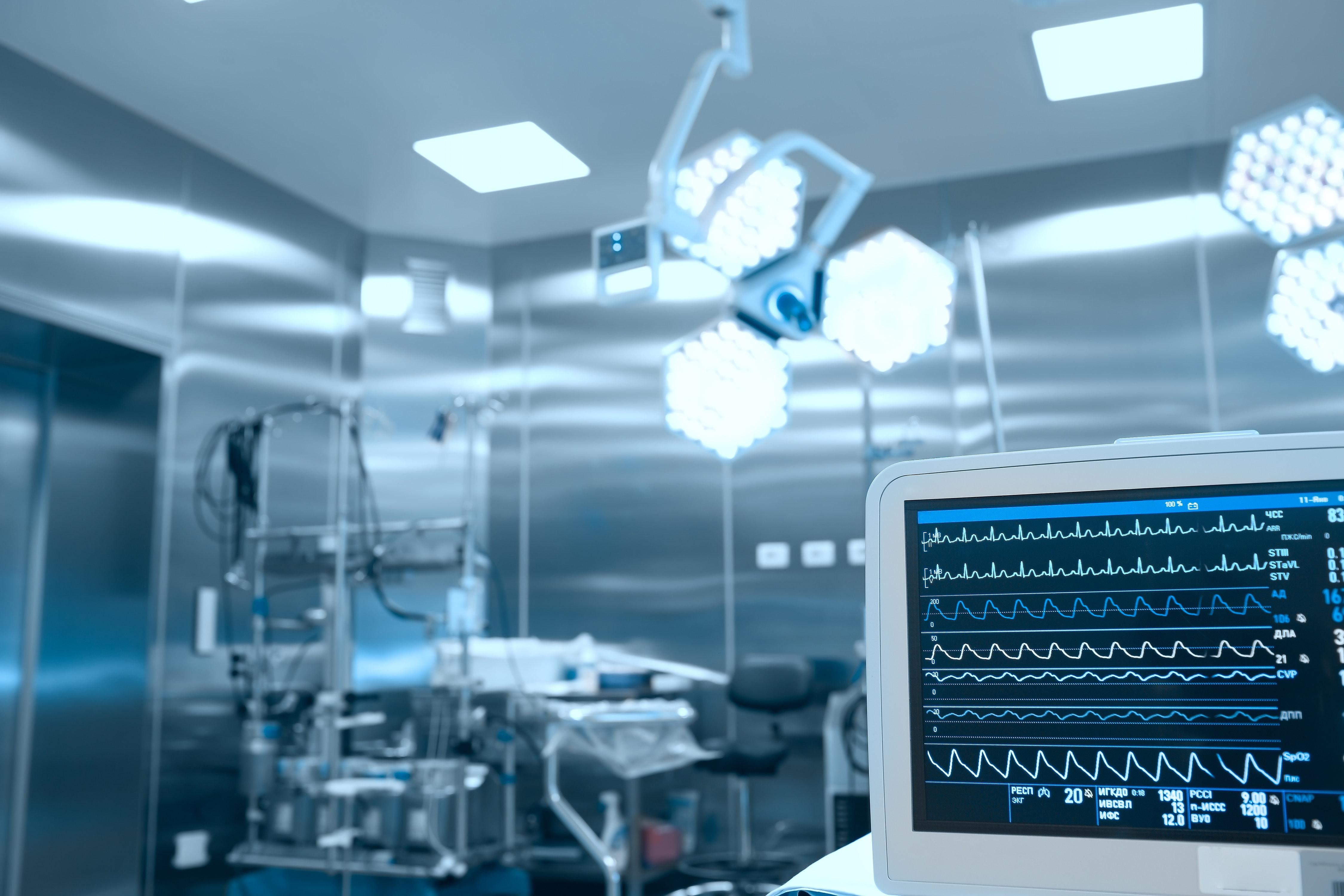 Intensivmedizin - Symbolbild Medizinphysik Berufsaussichten