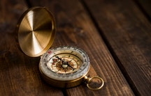 Kompass Symbolbild dunkle Triade