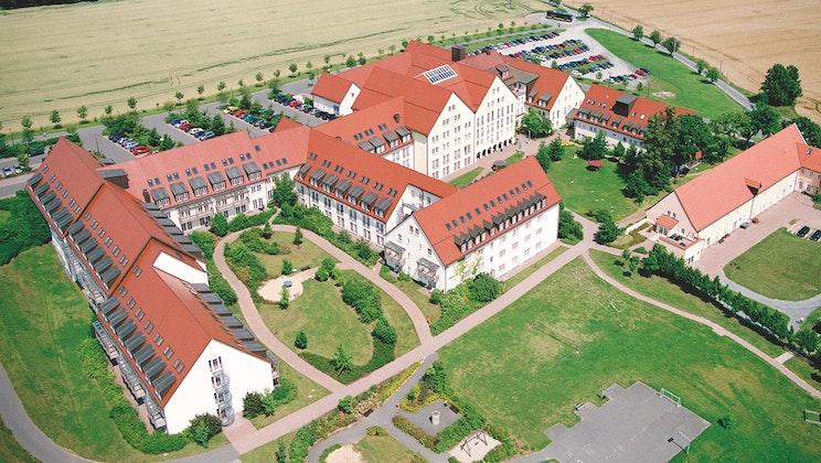 Klinik BAVARIA - Luftbild Zscheckwitz
