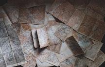 Landkarte Symbolbild Lehrkonzept Forschungskonzept