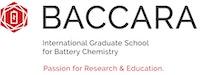 Logo: Internationale Forschungshochschule für Batterieforschung BACCARA