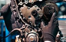 Motor Symbolbild Maschinenbau Berufsbild