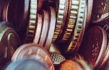 Münzen Symbolbild Biochemie Gehalt
