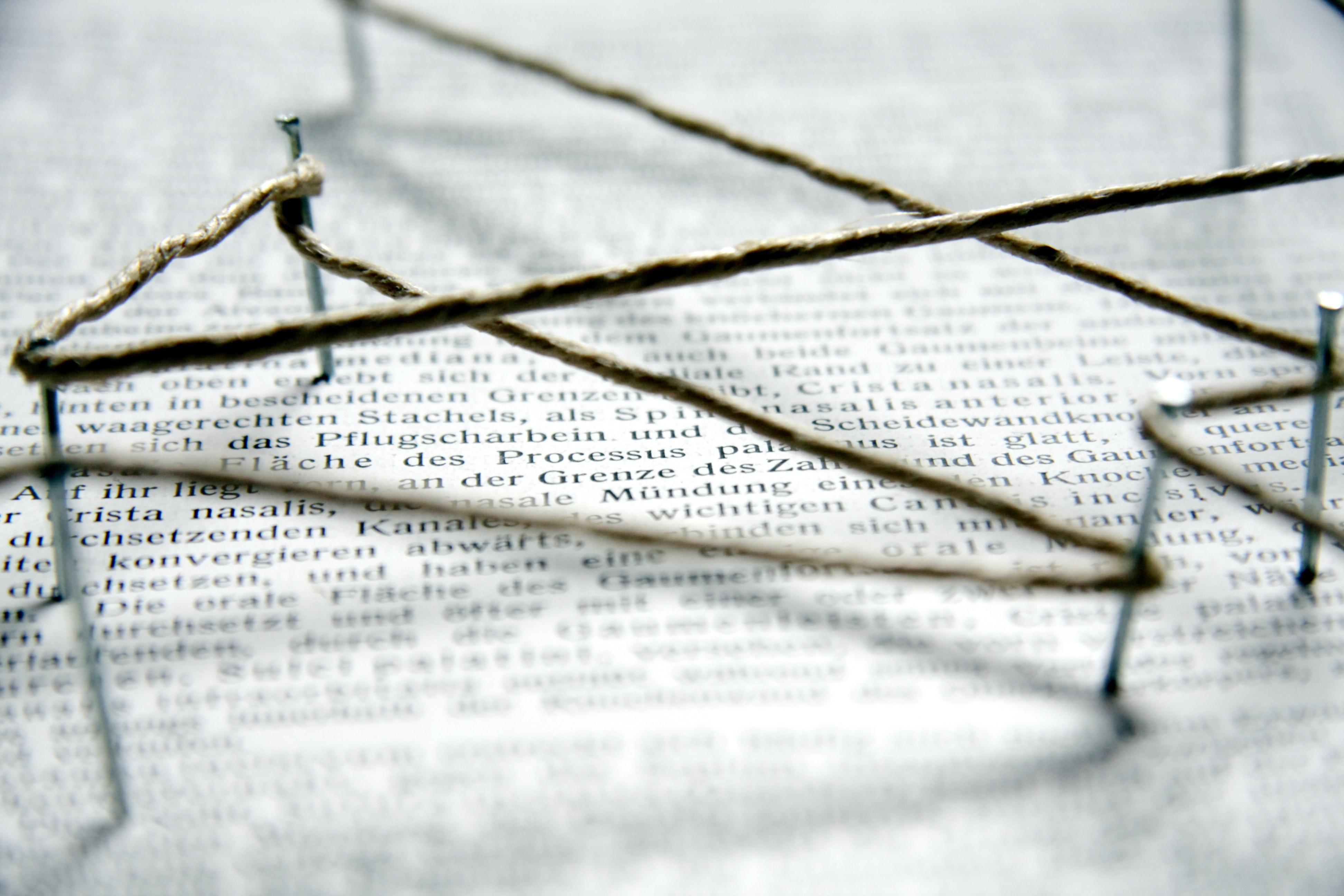 Nagelbild Symbolbild wissenschaftliche Netzwerke