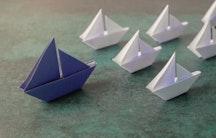 Papierschiff Symbolbild Ressourcen Management