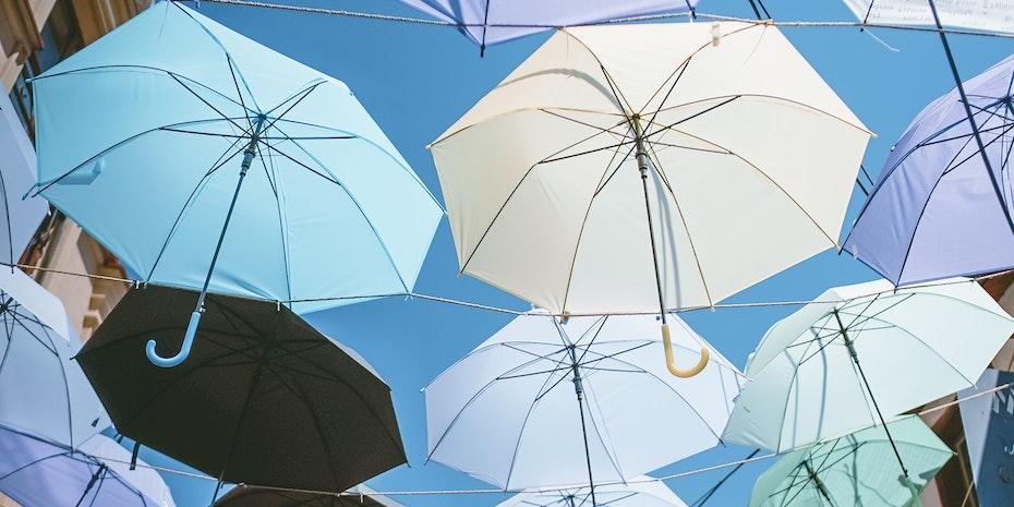 Regenschirm Symbolbild Postdoc Stipendium