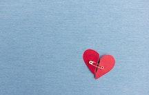 Repariertes Herz Symbolbild Medizin Gehalt