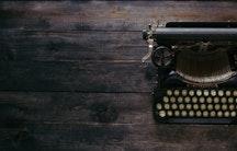 Schreibmaschine Symbolbild Habilitationsschrift