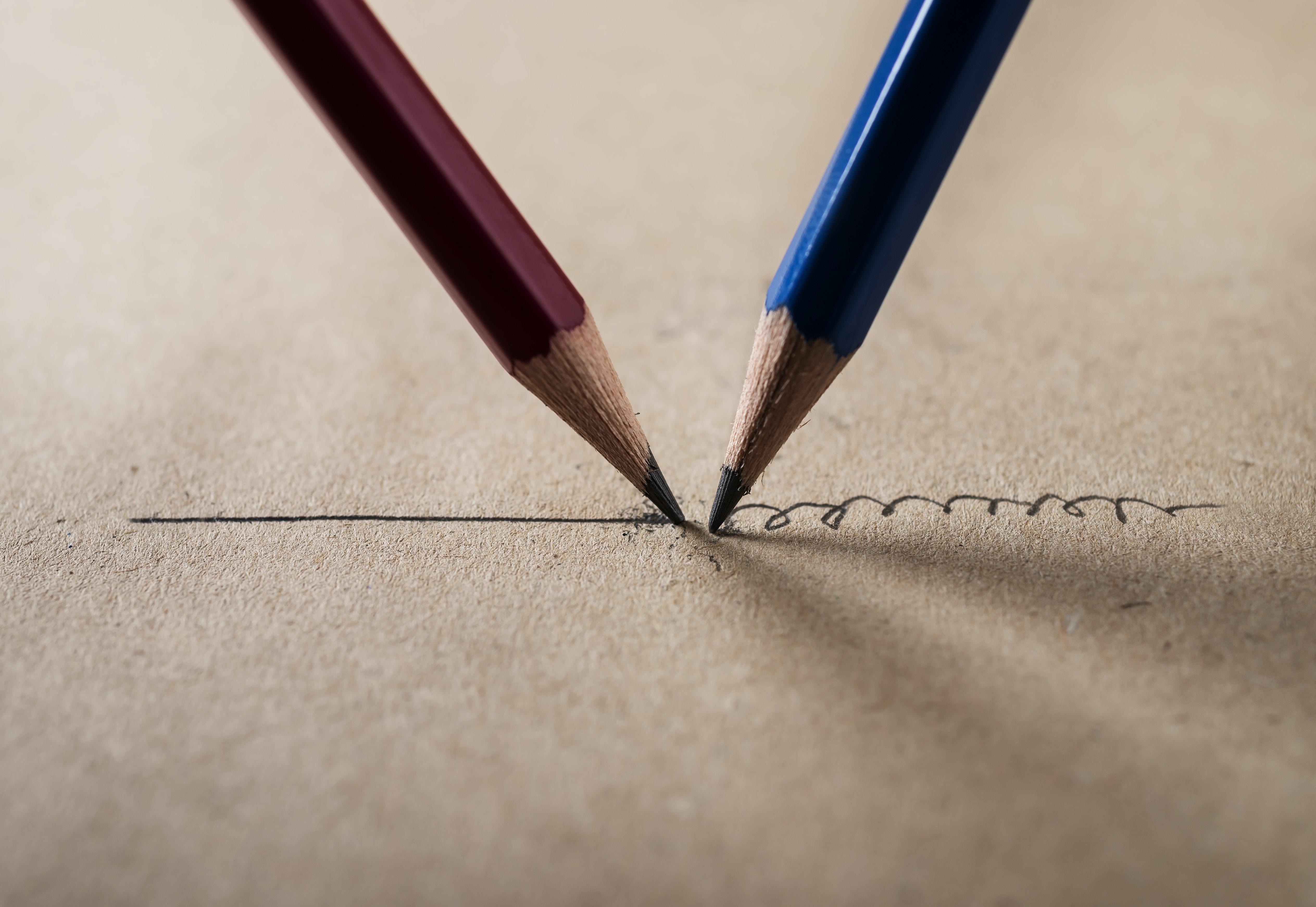 Stift Symbolbild promovieren mit Behinderung