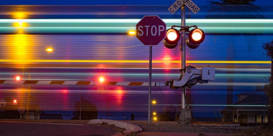 Stopzeichen Symbolbild Schreibblockade