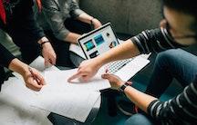 Team Symbolbild Masterarbeit im Unternehmen