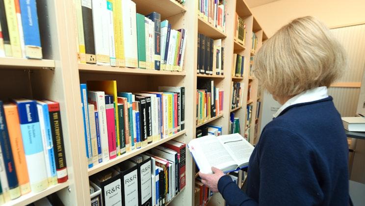 Vitos Haina - Bibliothek