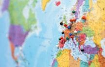 Weltkarte Anerkennung internationaler Hochschulabschluesse