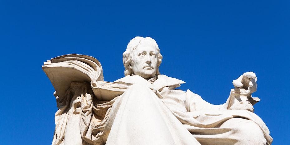 Wilhelm von Humboldt Statue Symbolbild Bildung in Deutschland